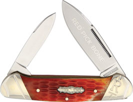 RR1684 Red Picked Bone Canoe
