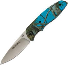Browning EDC Folder - Blue Camo