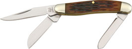 RR814 Tiny Stockman Amber Bone - Miniatur Messer