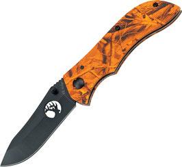 ER015OC Linerlock Orange Camo