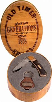 Schrade Set - Old Timer Lockback und Schlüsselanhänger
