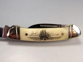 RR Canoe mit Scrimshaw Gravur #DK10
