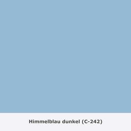 "THYMOS NOVALIN, natürliche Wandfarbe, matt ""Himmelblau dunkel"" (C-242)"