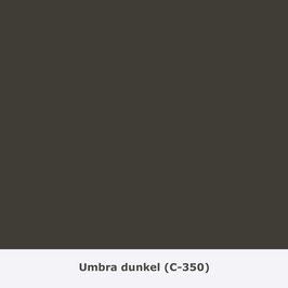 "THYMOS NOVALIN, natürliche Wandfarbe, matt ""Umbra dunkel"" (C-350)"