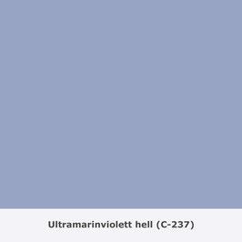 """THYMOS NOVALIN, natürliche Wandfarbe, matt """"Ultramarinviolett hell"""" (C-237)"""