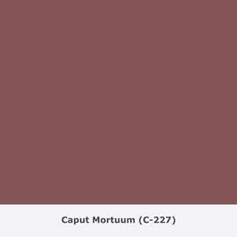 "THYMOS NOVALIN, natürliche Wandfarbe, matt ""Caput Mortuum"" (C-227)"