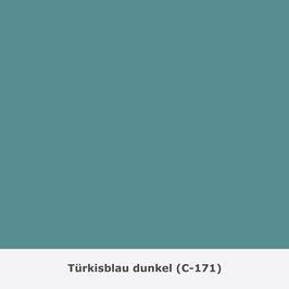 "THYMOS NOVALIN, natürliche Wandfarbe, matt ""Türkisblau"" (C-171)"