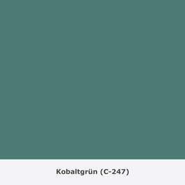 "THYMOS NOVALIN, natürliche Wandfarbe, matt ""Kobaltgrün"" (C-247)"
