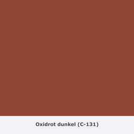 "THYMOS NOVALIN, natürliche Wandfarbe, matt ""Oxidrot dunkel"" (C-131)"