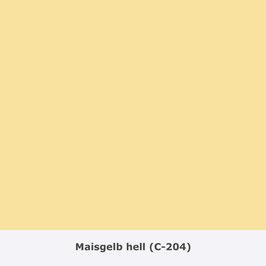 "THYMOS NOVALIN, natürliche Wandfarbe, matt ""Maisgelb hell"" (C-204)"