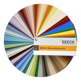 BEECK Mineralfarben-Fächer