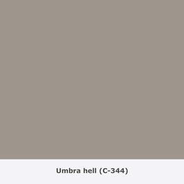 "THYMOS NOVALIN, natürliche Wandfarbe, matt ""Umbra hell"" (C-344)"