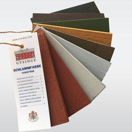 Farbfächer Gysinge Schwedenfarbe