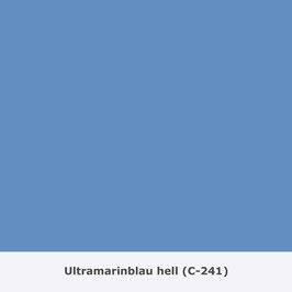 "THYMOS NOVALIN, natürliche Wandfarbe, matt ""Ultramarinblau hell"" (C-241)"