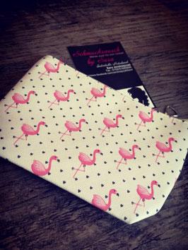 "Mini-Tasche ""Flamingos"""