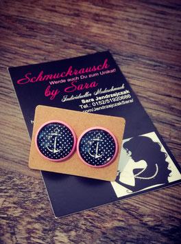 """Ohrstecker """"pink Anker"""""""