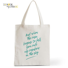 Tote Bag When The Rain