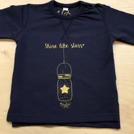 """Sweat-Shirt """"Shine Like Stars"""" - 12-18 M"""