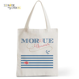 Tote Bag Mor(d)ue d'Amour