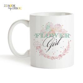 Mug Flower Girl