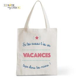 Tote Bag Vacances