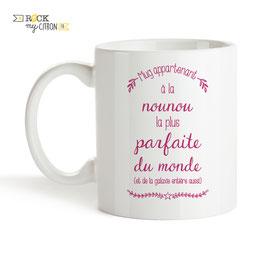 Mug Nounou Parfaite