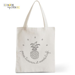 Tote Bag Pouss' l'Ananas