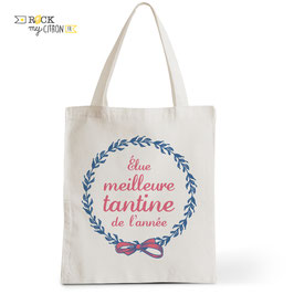 Tote Bag Meilleure Tantine