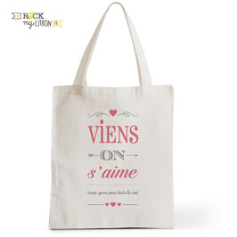 Tote Bag Viens On s'Aime