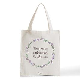 Tote Bag Vous pouvez Embrasser la Mariée