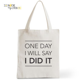 Tote Bag One Day