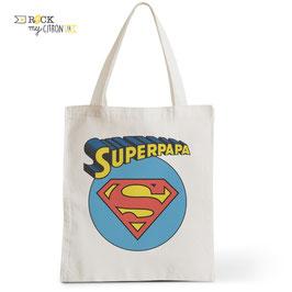 Tote Bag Super Papa