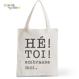 Tote Bag Embrasse-moi