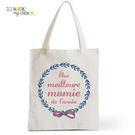 Tote Bag Meilleure Mamie