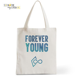 Tote Bag Forever Young