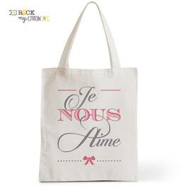 Tote Bag Je Nous Aime