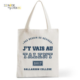 Tote Bag Le Talent - Personnalisé