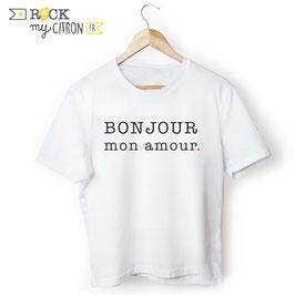 T-shirt MC Bonjour Mon Amour