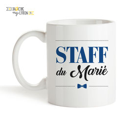 Mug Staff du Marié