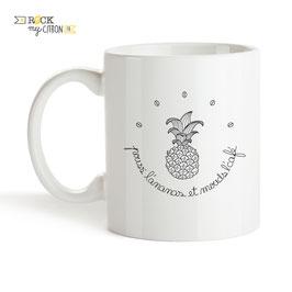 Mug Pouss' l'Ananas