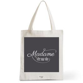 Tote Bag Madame Vit sa Vie