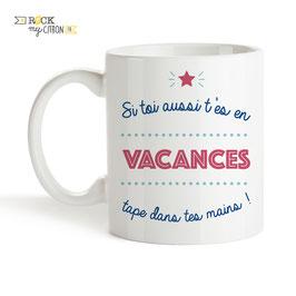 Mug Vacances