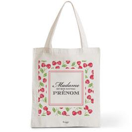 Tote Bag Prénom Madame