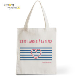 Tote Bag L'Amour à la Plage