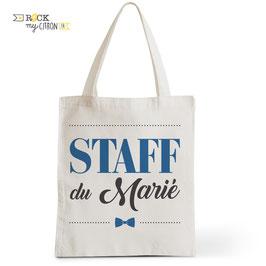 Tote Bag Staff du Marié