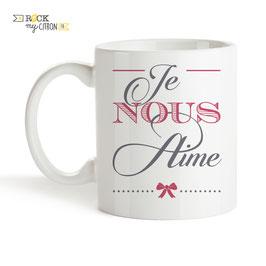 Mug Je Nous Aime