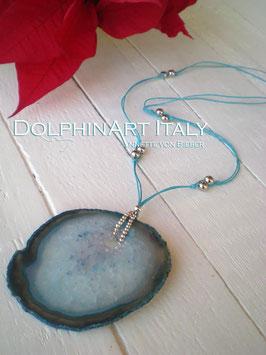 Necklace *BLUE OCEAN SPIRIT*
