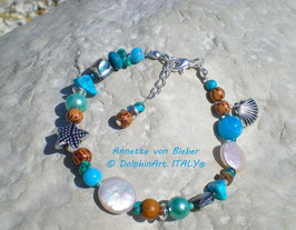 BRACELET COLORED WAVE