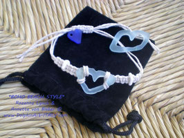 Bracelet *SHAMBALLA BEACH HEART*