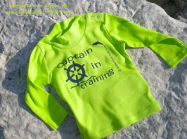 SHIRT FOR KIDS *CAPTAIN IN TRAINING*